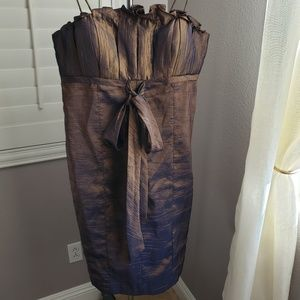 Cachet Duochrome Cocktail Dress